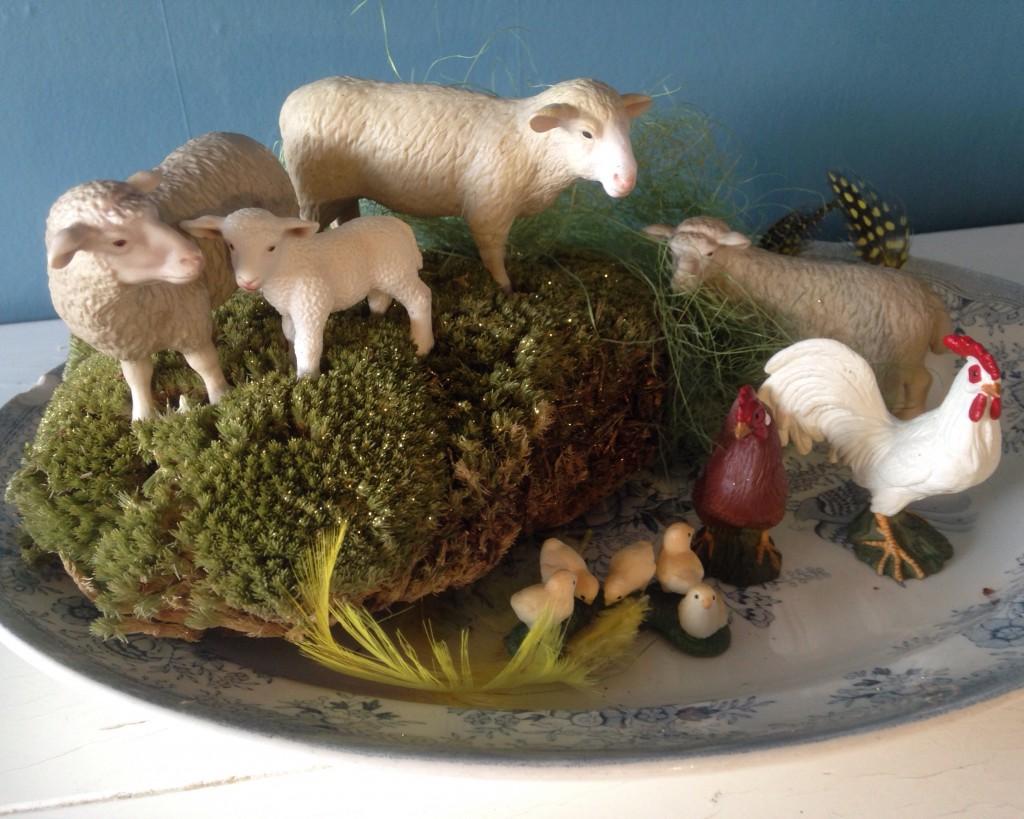 Mæh siger det lille lam…